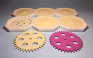 3D Printed Mold for Polyurethane Gears