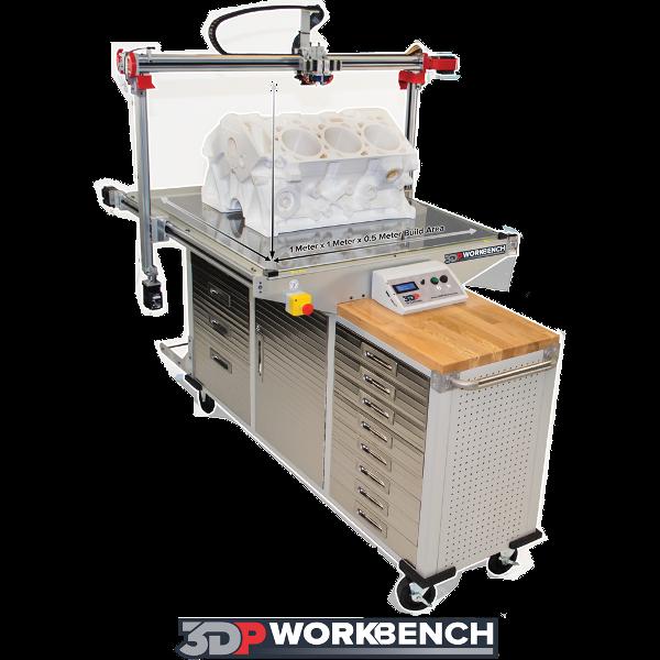 3DP Workbench Large Format 3D Printer