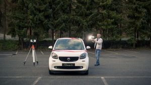 Vehicle Terrestrial 3D Scanning with the Artec Ray