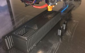 High voltage electrical insulator prototype 3d printing in polymaker polymax on the 3d platform large format 3d printer