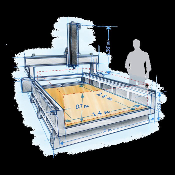 3D Platform WorkCenter 500
