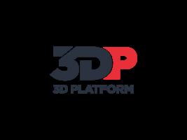 Logo for 3DP 3D Platform