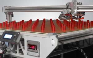 3DP Workbench 3d printing Production volume Cylinders