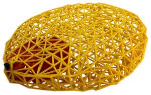 3D Printed Radiation Plume