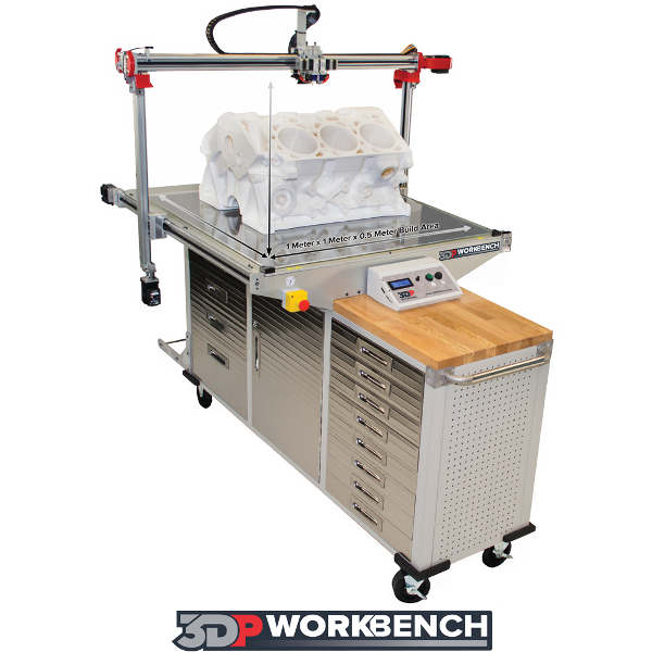 3DP Workbench Large Format 3D Printer