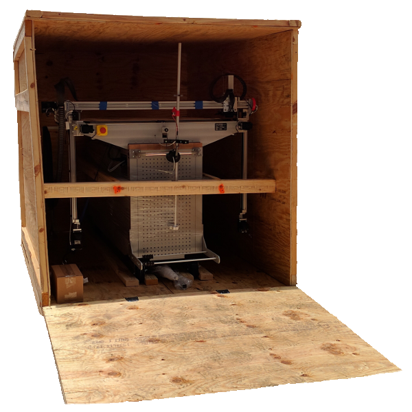 3DP Workbench Classic inside crate